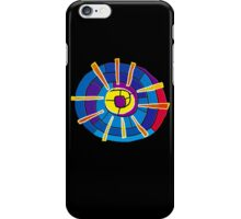 Colour Spindle iPhone Case/Skin