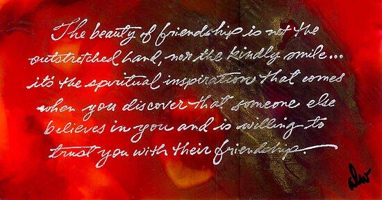 Beauty of Friendship by © Angela L Walker