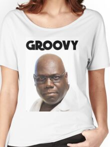 Carl Cox - Groovy Print Women's Relaxed Fit T-Shirt