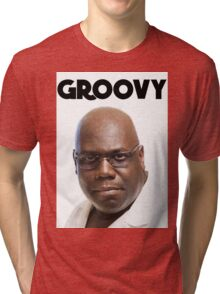 Carl Cox - Groovy Print Tri-blend T-Shirt