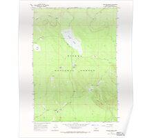 USGS Topo Map Oregon Sellers Marsh 281437 1967 24000 Poster