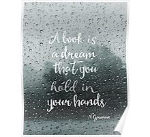 Neil Gaiman quote Poster
