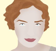 Demelza Poldark Portrait  Sticker