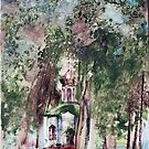 The Church in front of my house by Hiroshija