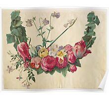 Johannes Simon Holtzbecher Blomsterranke Poster