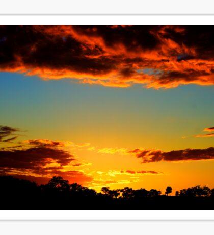 HDR Sunset Sticker