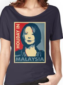 Julia - Holiday In Malaysia Women's Relaxed Fit T-Shirt