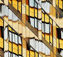 Los Angeles reflection #10 by luvdusty