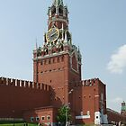 Spassky tower of the Kremlin by mski
