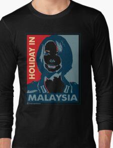 Julia - Holiday In Malaysia, Cream Long Sleeve T-Shirt