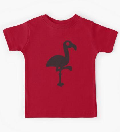 Black Flamingo Kids Tee