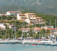Skiathos coastline, Greece Sticker