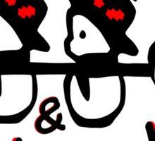 Christmas snowman vector art Sticker