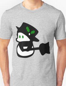 cute snowman holidays vector art T-Shirt