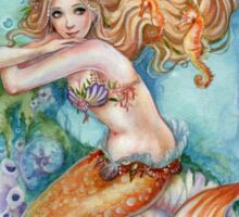 Mermaid Fantasy Art Under the Sea Sticker