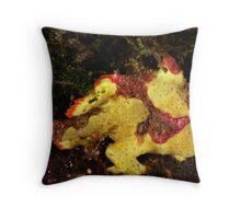 Clown Frogfish Throw Pillow