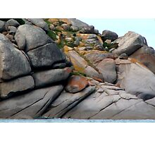 Rockscape at Victor Harbour Photographic Print
