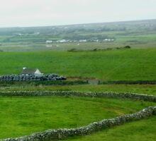 Irish Countryside Photo jl-sm Sticker
