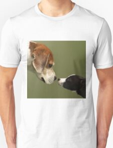 Nose To Nose Dogs 2 T-Shirt