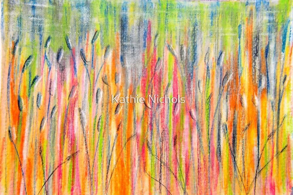 Whispering Reeds in Sunshine by Kathie Nichols