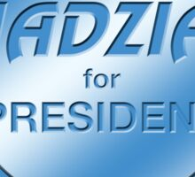 Jadzia for President Sticker