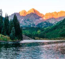 Maroon Lake Sunrise Sticker