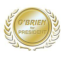 O'Brien for President by ImagineThatNYC