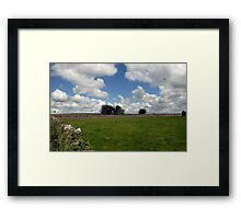 Countryside, Ireland Framed Print