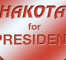 Chakotay for President Sticker