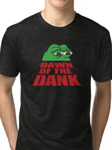 Pepe Frog Dawn of the Dank Tri-blend T-Shirt