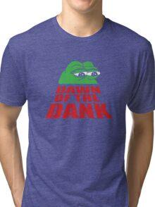 Pepe Frog Dawn of the Dank Tri-blend T-Shirt