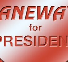 Janeway for President Sticker