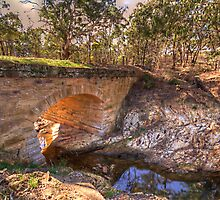 Great South Road - Towrang Bridge c 1830 Goulburn NSW The HDR Experience by Philip Johnson