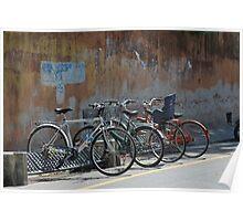Urban bikes Poster