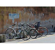 Urban bikes Photographic Print