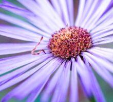 Purple Mountain Flower Sticker