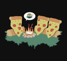 Campfire Tales of a Pepperoni Pizza