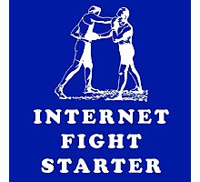 Internet Fight Starter Photographic Print