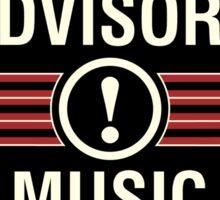 Rockers Advisory Sticker