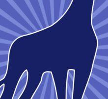 Adopt a giraffe funny Sticker