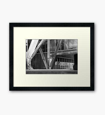 Broadgate Plaza Framed Print