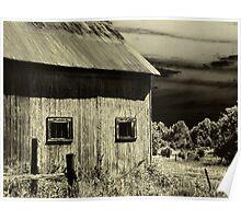 Roadside Barn  Poster