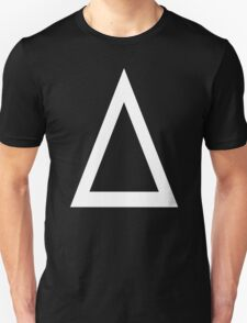 Prism A triangle design graphic Baseball Jersey T-Shirt