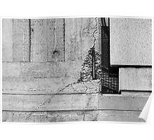 Concrete detail Poster
