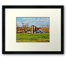Sunrise Farm  Framed Print