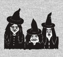halloween witches funny spooky and scary  by pollywolly