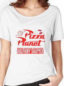 Pizza Planet Women's Relaxed Fit T-Shirt