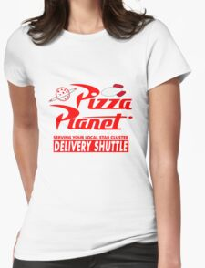 Pizza Planet Womens Fitted T-Shirt
