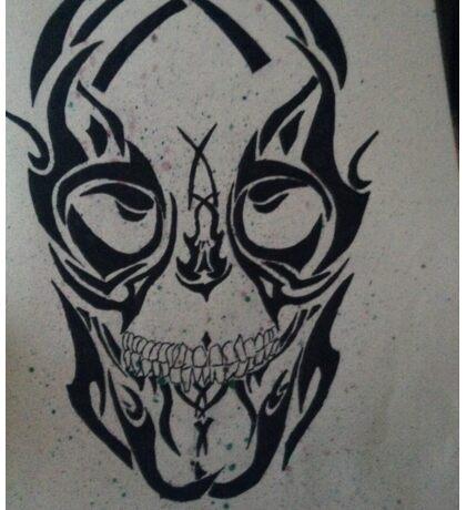 Market skull Sticker