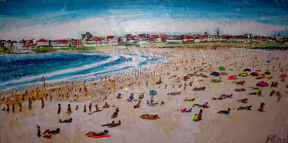 Blissful Bondi  by gillsart